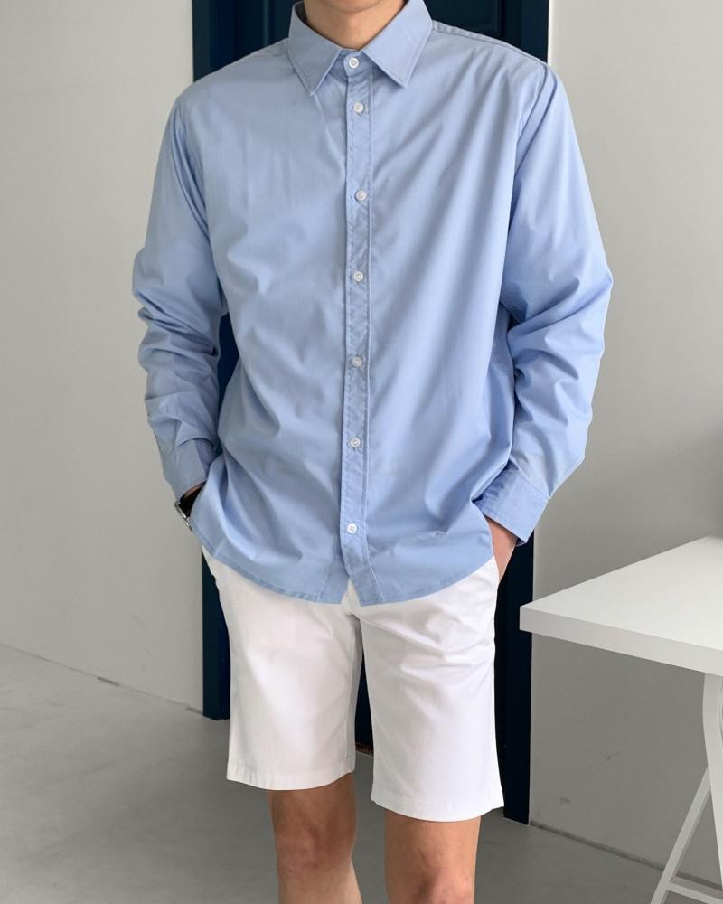 (인티드)7106 데일리 스판 셔츠