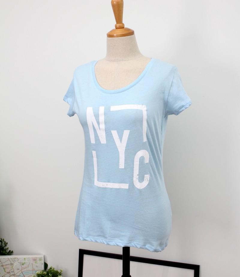 (완사입/파샬) NYC 반팔 티셔츠 / 26장 / 1500원