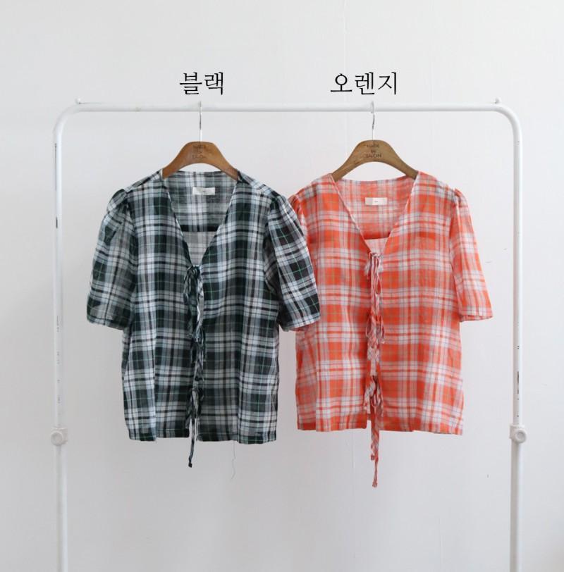 [완사입/파샬] 아일렛 체크BL - 2컬러 18장 3000원