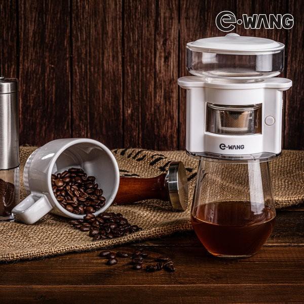 E-WANG 자동회전 커피드리퍼