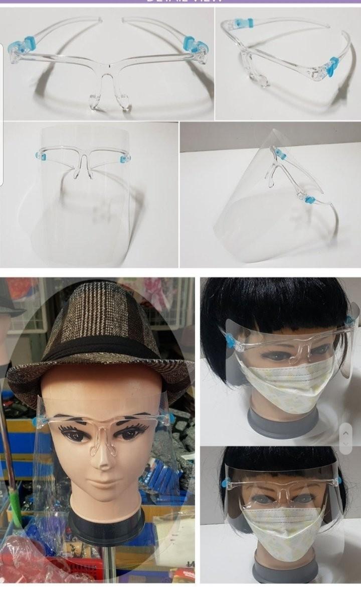 얼굴보호 안경마스크 투명마스크 코로나마스크 비말차단 학교마스크 여름마스크 얼굴마스크 페이스쉴드