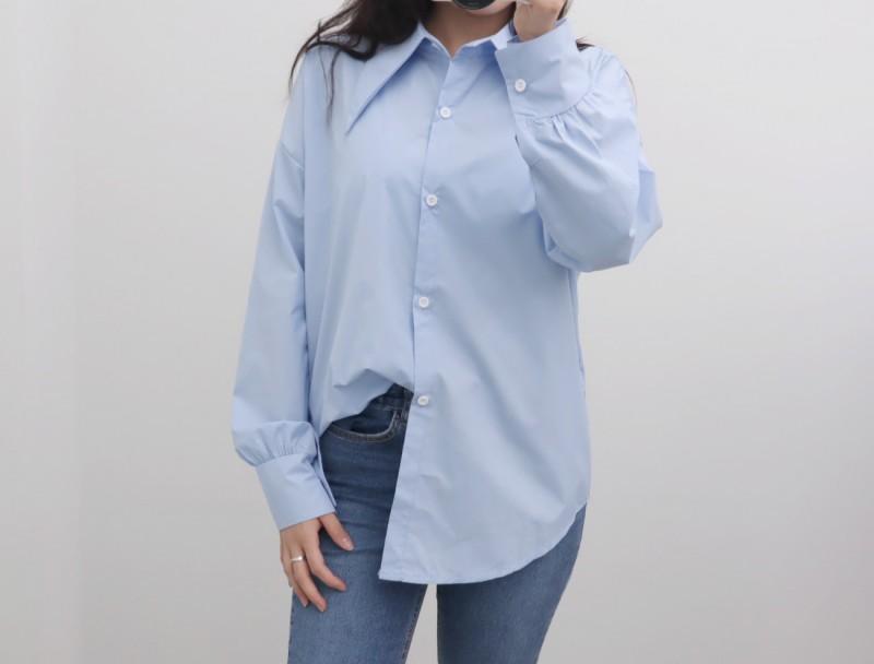 (완사입/파샬) 빅카라 소매셔링 셔츠/10장/3000