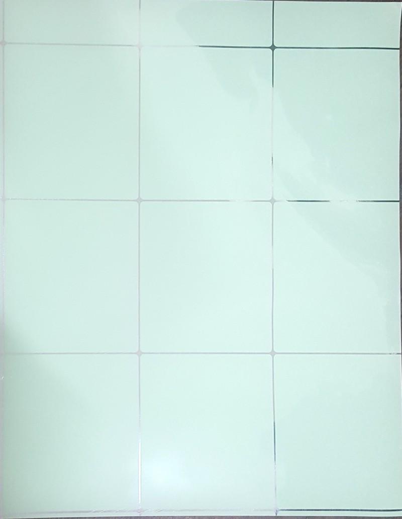 주방 알루미늄 시트지, 타일 오염 방지 시트지