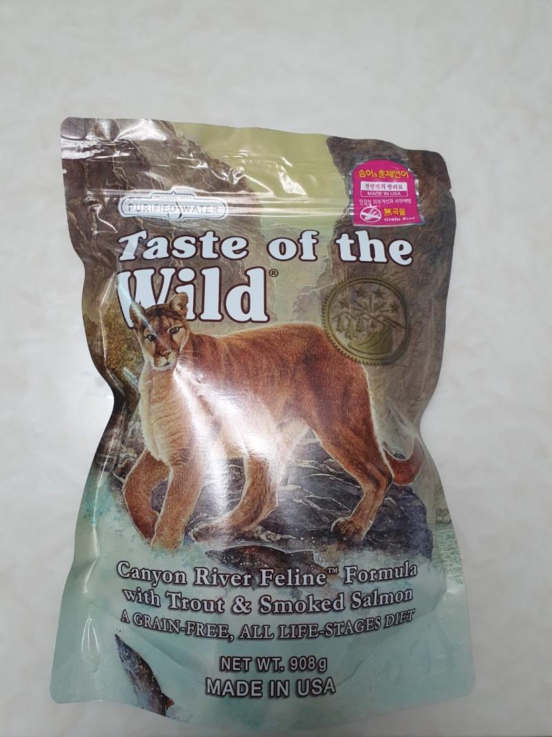 Taste of the Wild 토우(TOW) 송어 훈제연어 캣 908g
