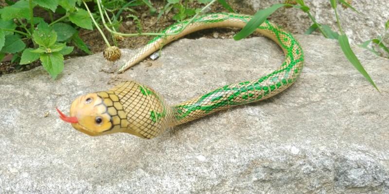 코브라 모형뱀