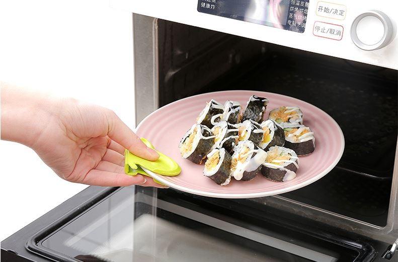 냉장고 부착식 단열 실리콘 집게