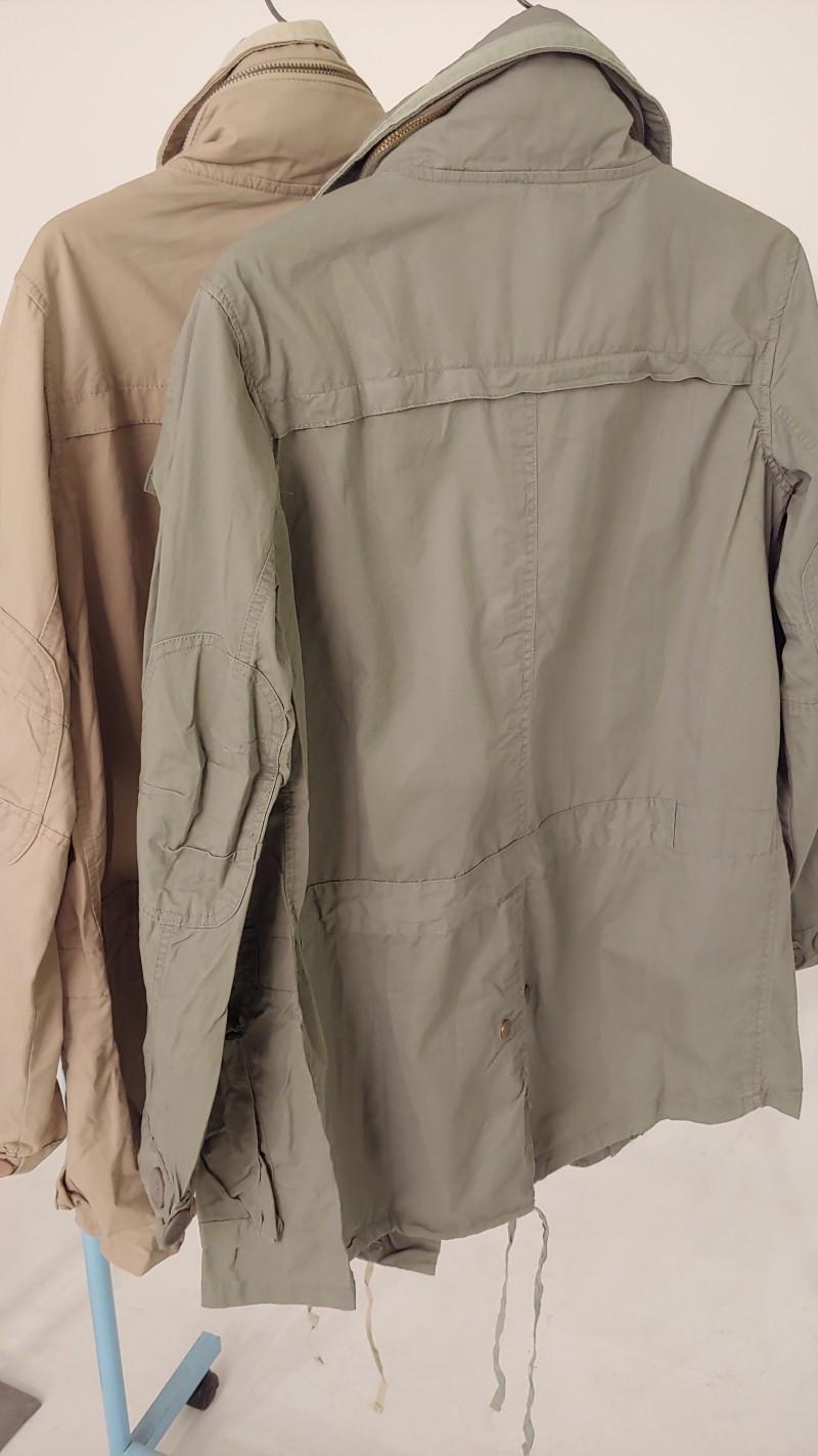 여성 하이넥 야상자켓 (2colors)//2000원