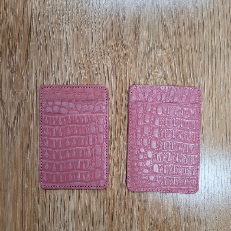 소가죽 카드지갑