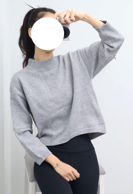 (완사입/파샬) 집업 포인트 반하이니트/20장/3500