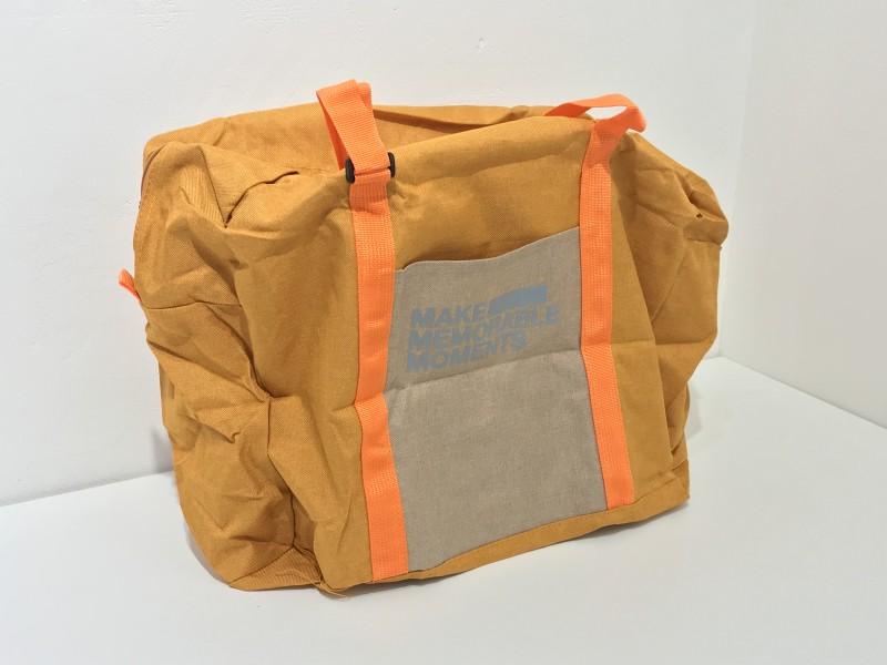 휴대용 접이식 가방(새제품 / 개별 비닐포장)