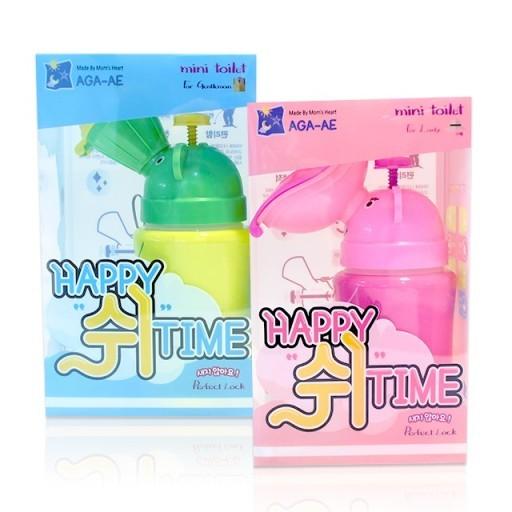 아가애 해피쉬타임 휴대용유아소변기 남아용,여아용