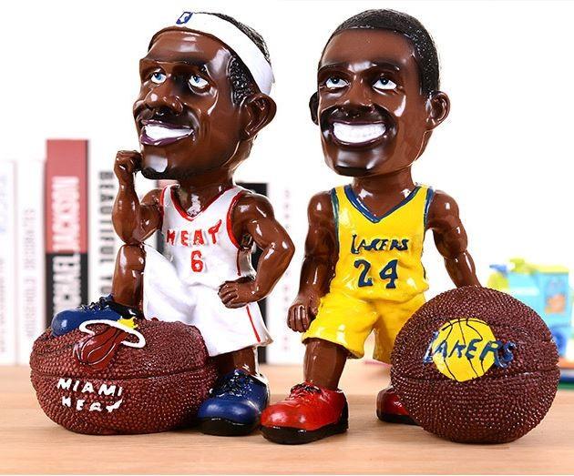 NBA 코믹 캐릭터 농구선수 장식품