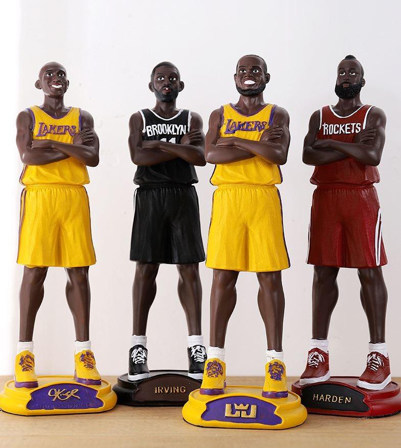 NBA 농구스타 수지 공예품