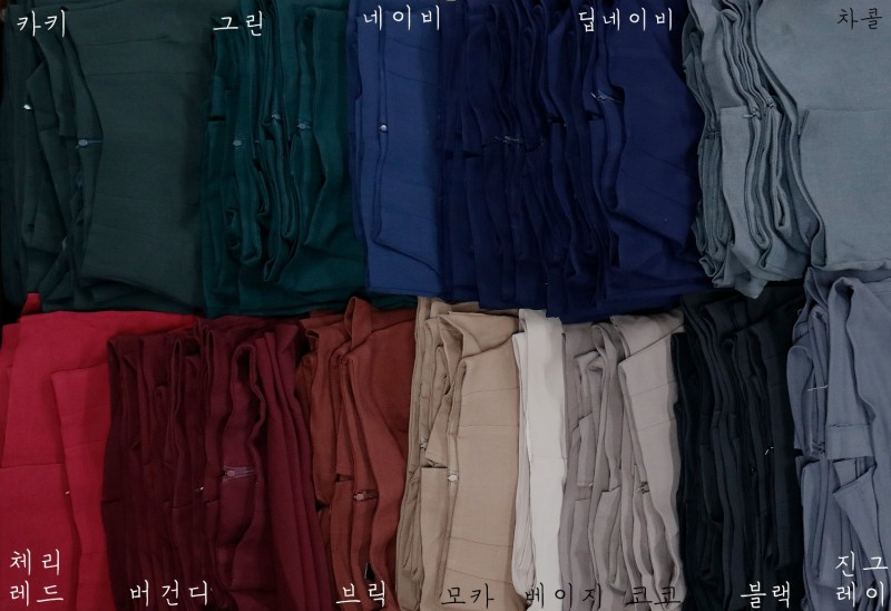 [완사입] 동대문 여성SK 모음 - 13컬러 133장 토탈 20만원
