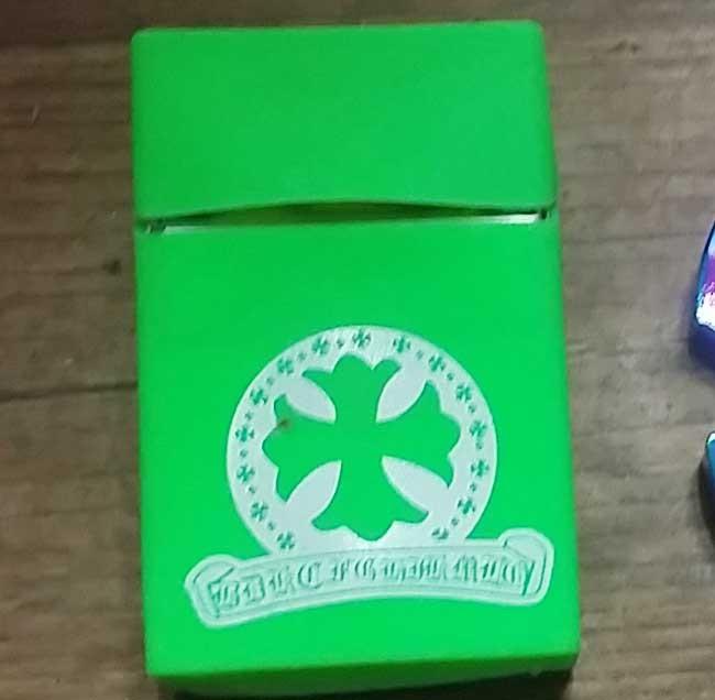 실리콘 젤리 담배케이스