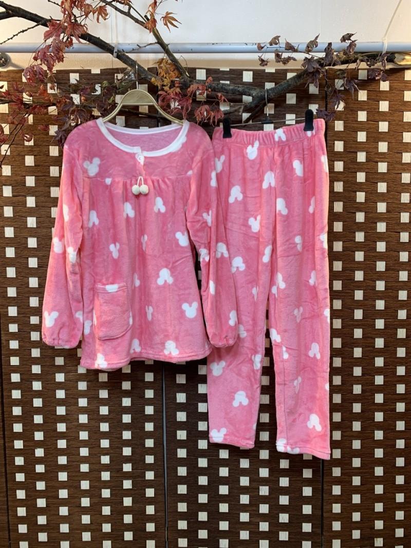 핑크 미키잠옷 세트