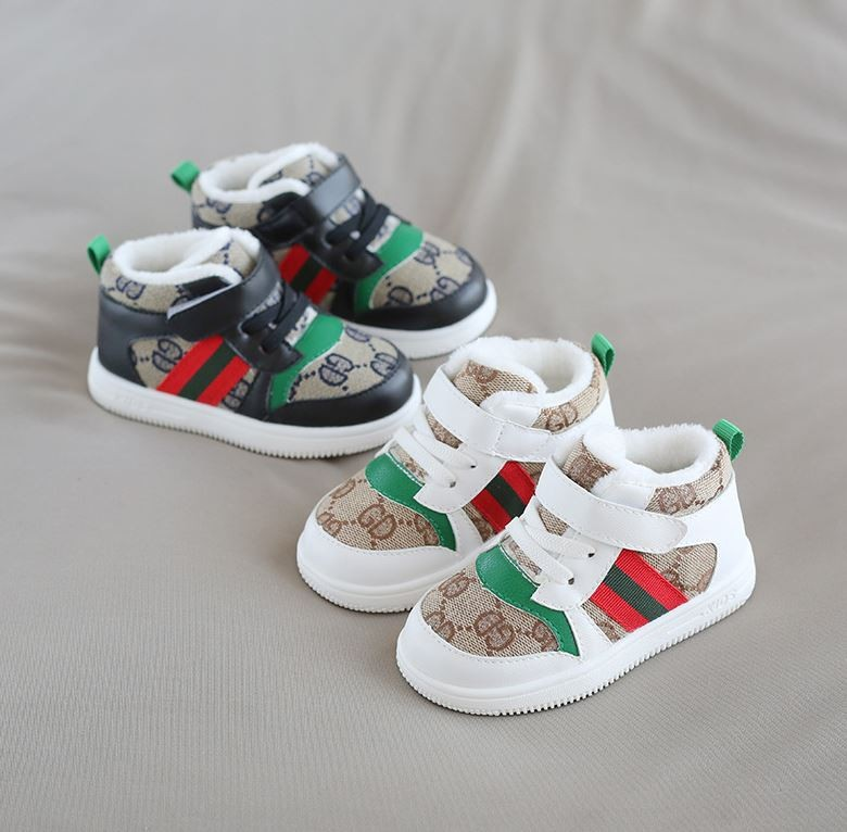 아동용 벨크로 패션 신발