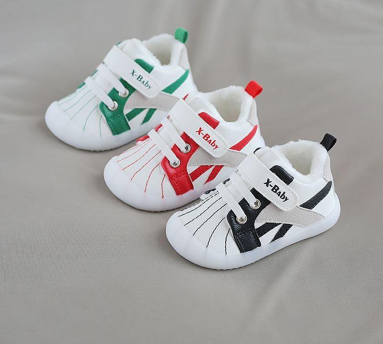아기용 벨크로 패션 신발