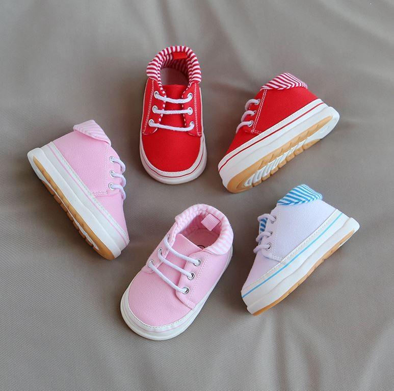 아기용 캠버스 신발