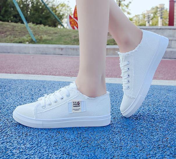 여성용 빈티지 스니커즈 신발