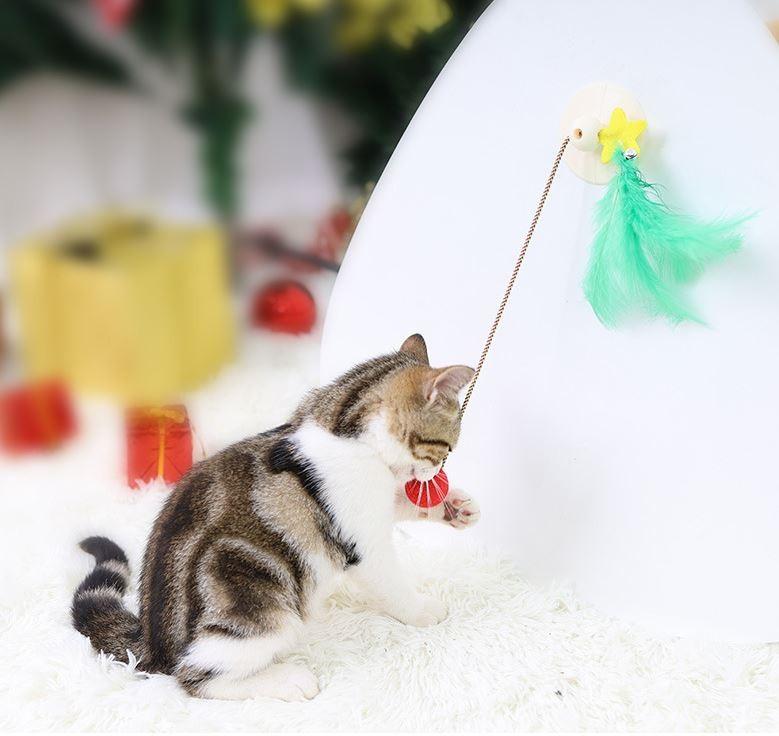 고양이 줄다리기 장난감