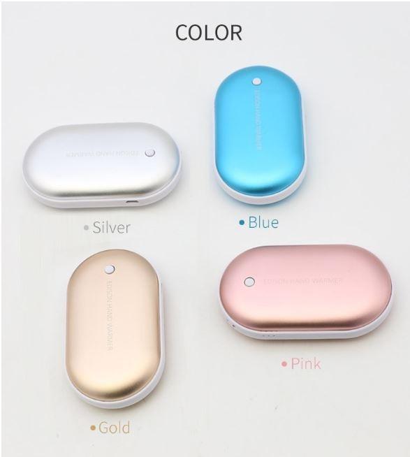 인기상품 kc인증 손난로 3000mAh 보조배터리 4가지 색상 땡처리