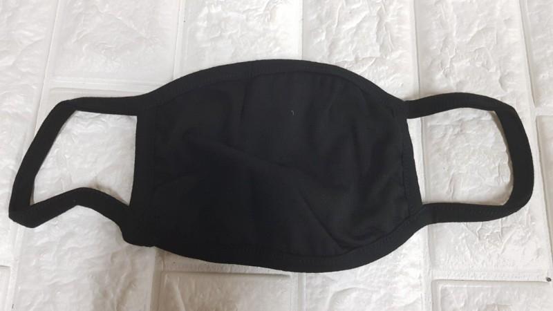 국산 검정 방한대 마스크