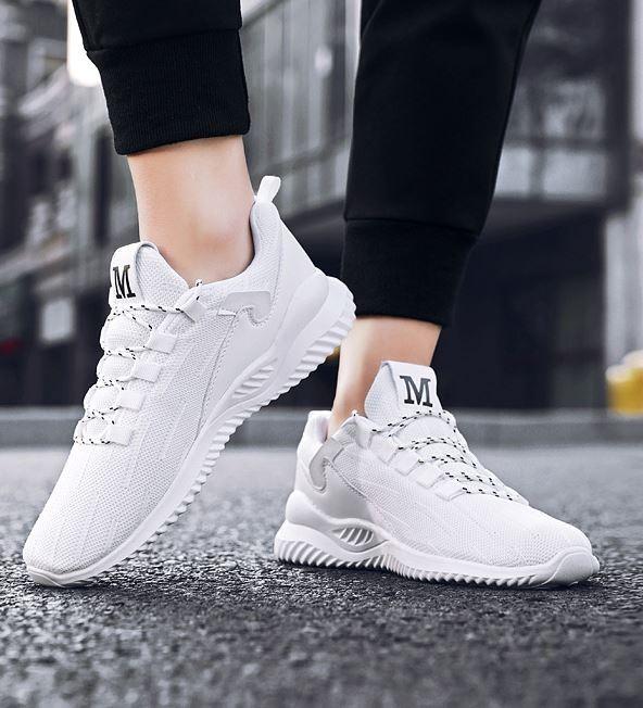 남성용 캐쥬얼 스티커즈 신발