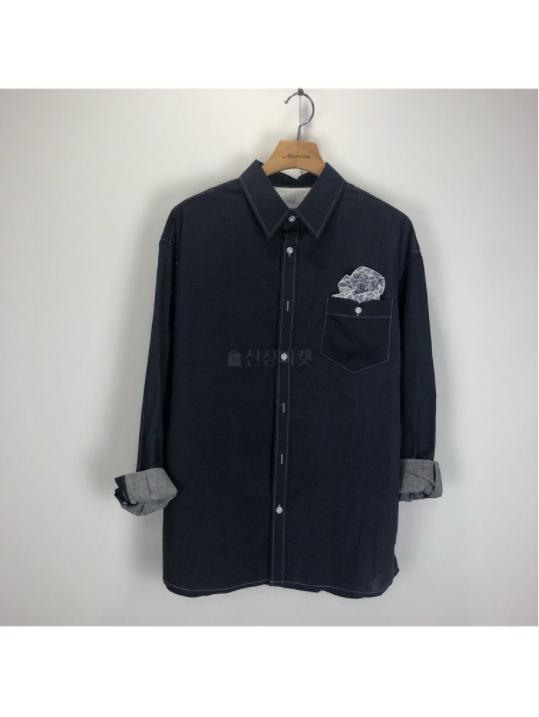 (완사입/파샬) 스케치 행거치프 셔츠/45장/4000
