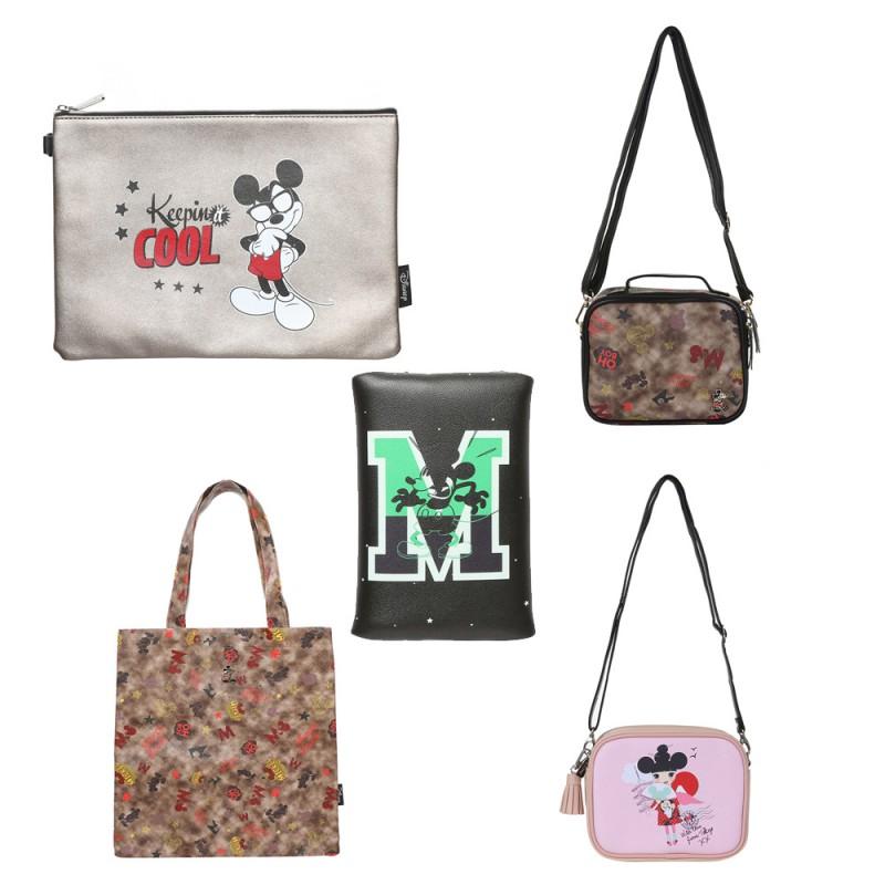 디즈니 정품 미키마우스 가방/파우치/클러치/지갑