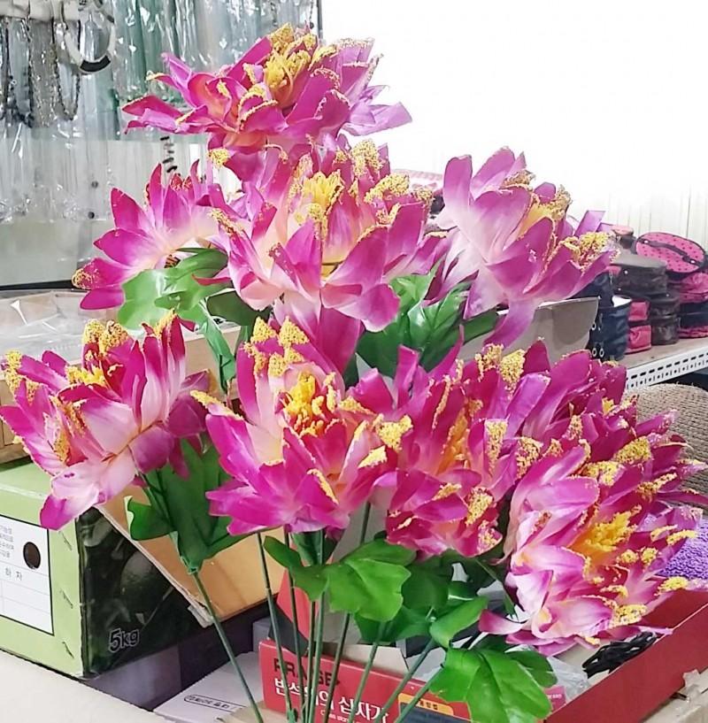 조화 인테리어식물 꽃