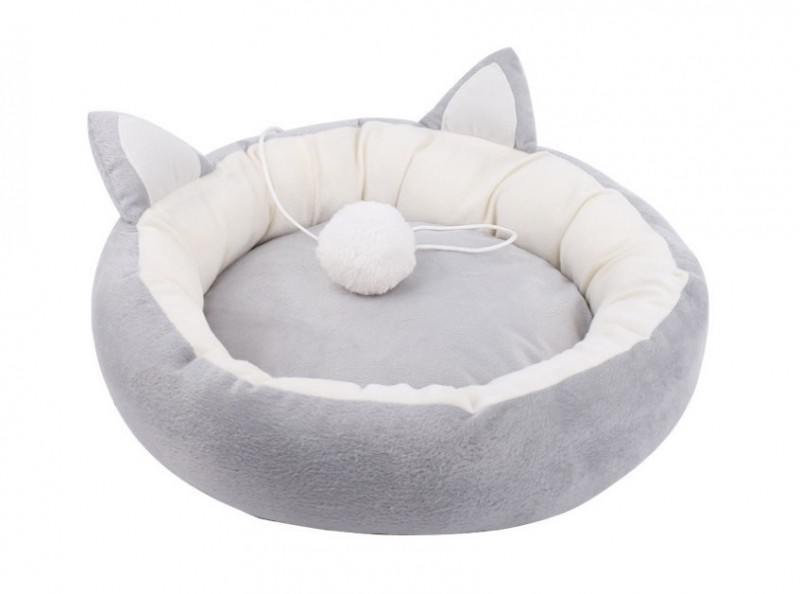 애완동물 원형 도넛방석,티아라방석,귀방울방석