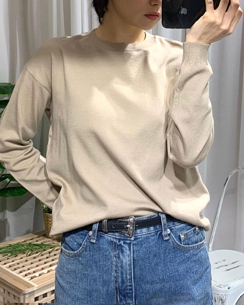 (완사입/파샬) 룩앤미 봄 니트 티 / 60장 / 2000