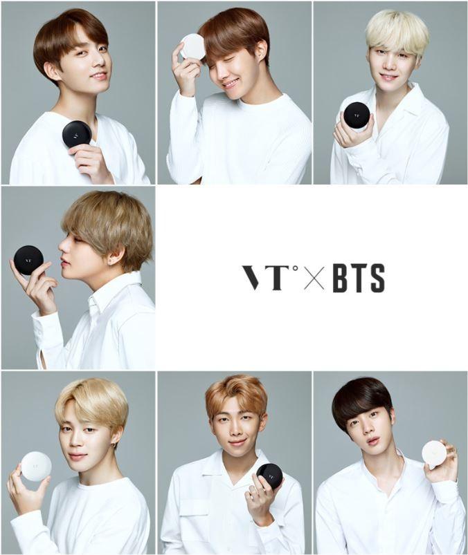 VT X BTS 콜라보 화장품 재고 판매