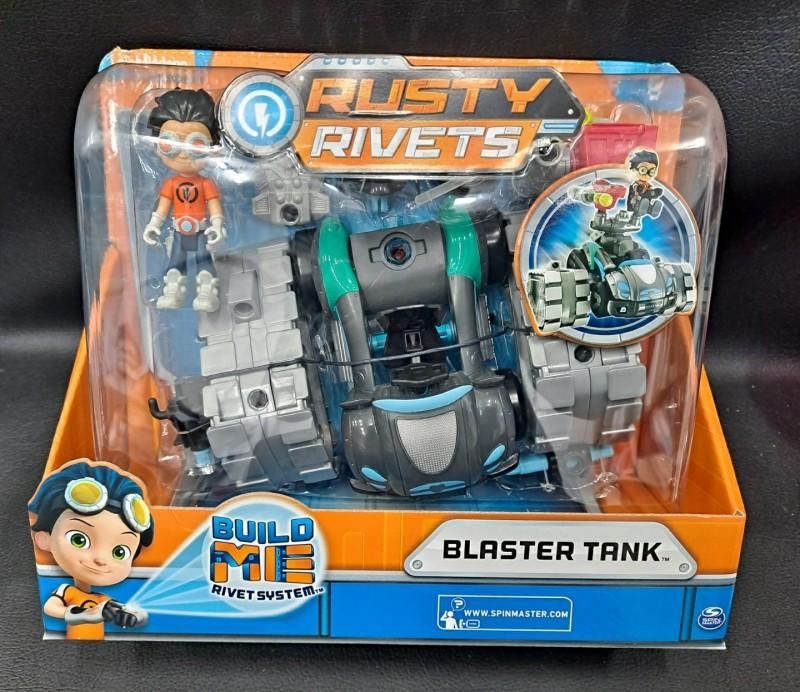 로봇발명왕러스티 변신탱크조립세트