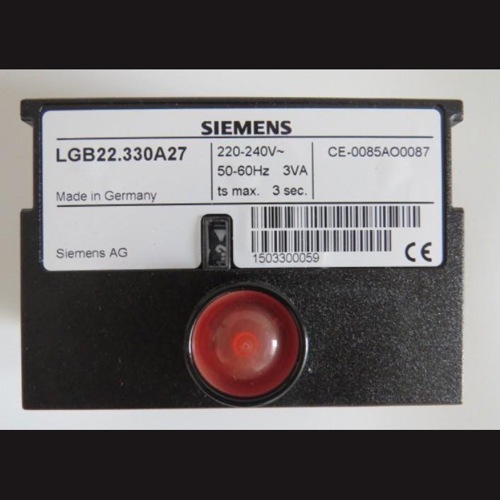 지멘스 버너컨트롤러 LGB 시리즈 가스용 소용량 내부 콘덴서 [수국버너 한국열기]