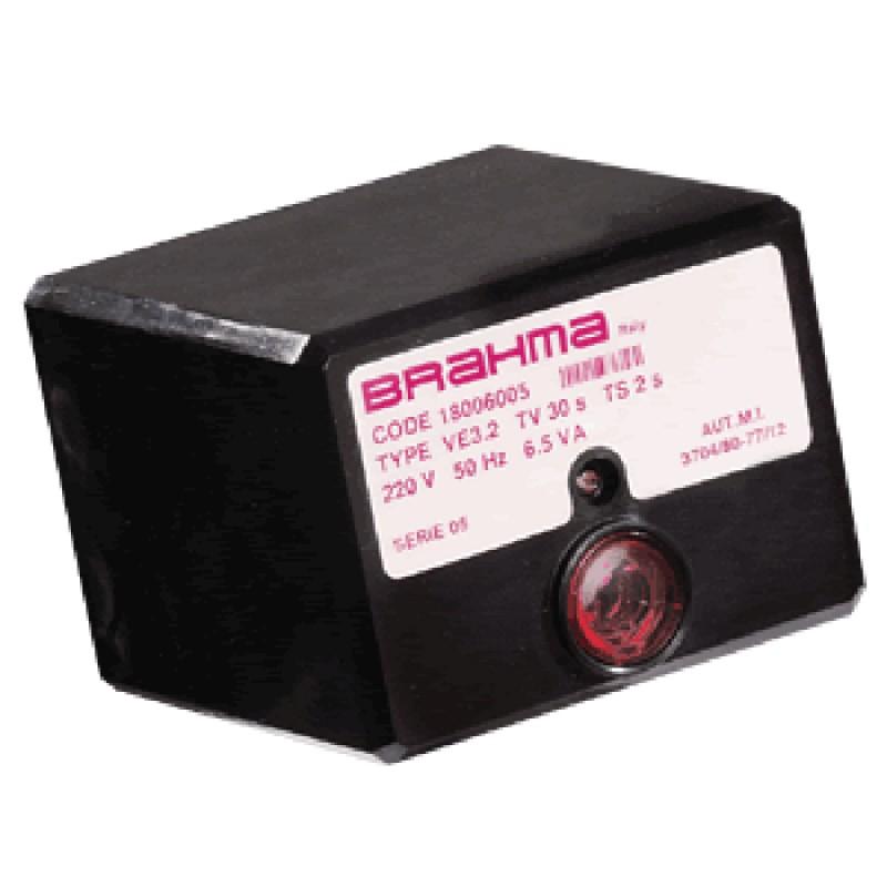 브라마 버너컨트롤러 VE3.2 가스용 내부 콘덴서 [수국버너 한국열기]