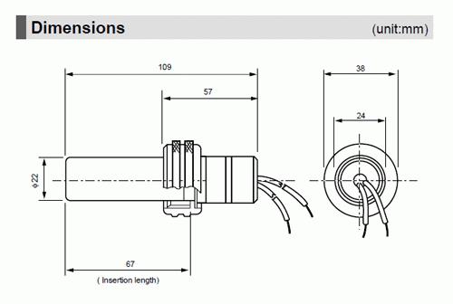 허니웰 화염검출기 C7035A 시리즈 내부 콘덴서 [수국버너 한국열기]