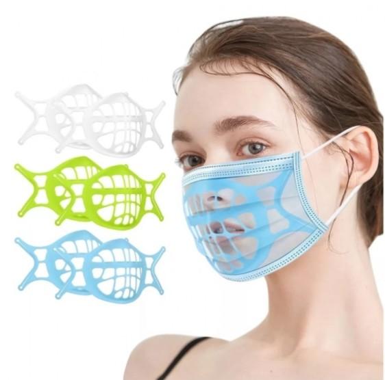 마스크홀더 식품등급 실리콘3D OPP개별작업 마스크브래킷