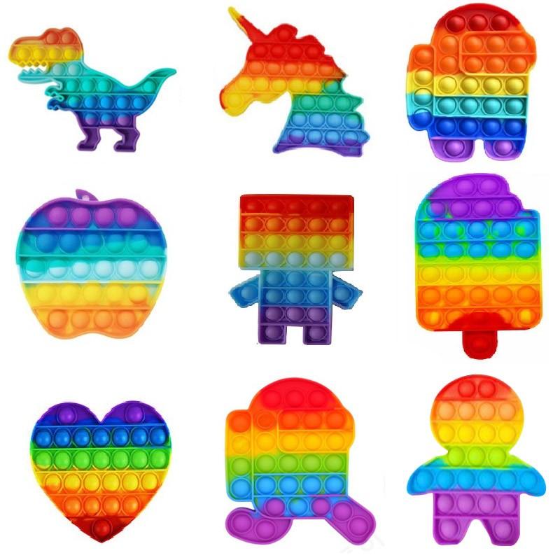 푸시팝 퍼즐 버블푸쉬 팝잇 실리콘뽁뽁이 장난감
