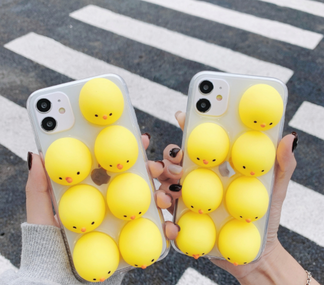 210504공장직배송 푸쉬팝 실리콘 인형 캐릭터 핸드폰케이스 기성품구매 및 주문제작