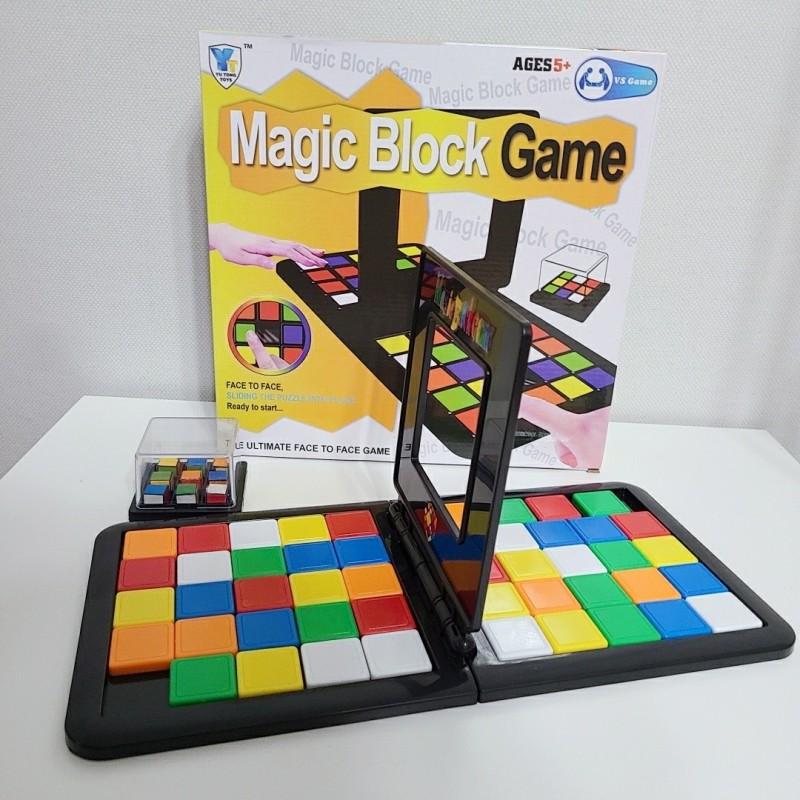 매직블럭 1대1 퍼즐 놀이