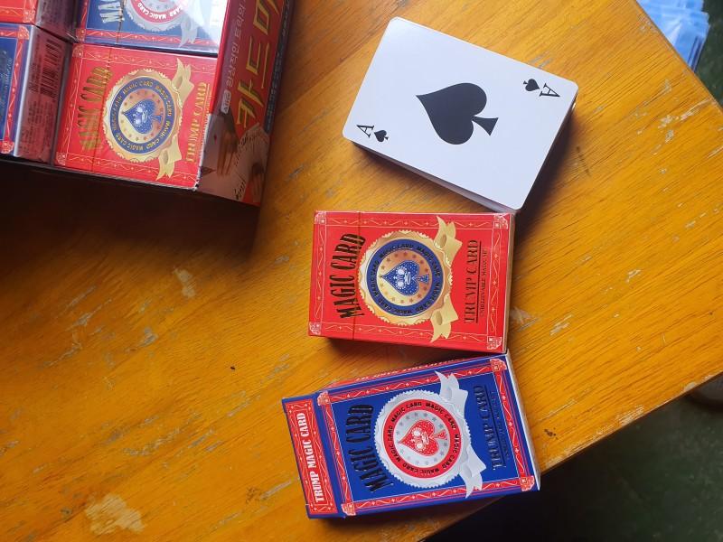 포카,카드,마술카드