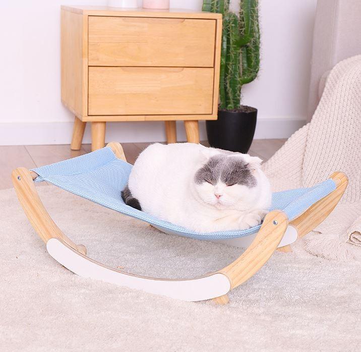 고양이 흔들 침대