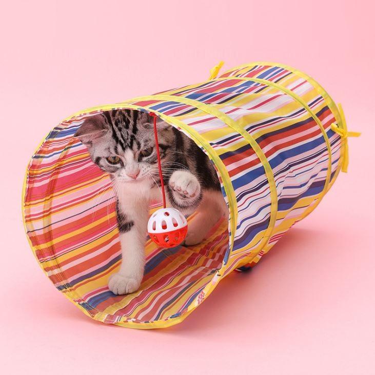 고양이 터널 장난감