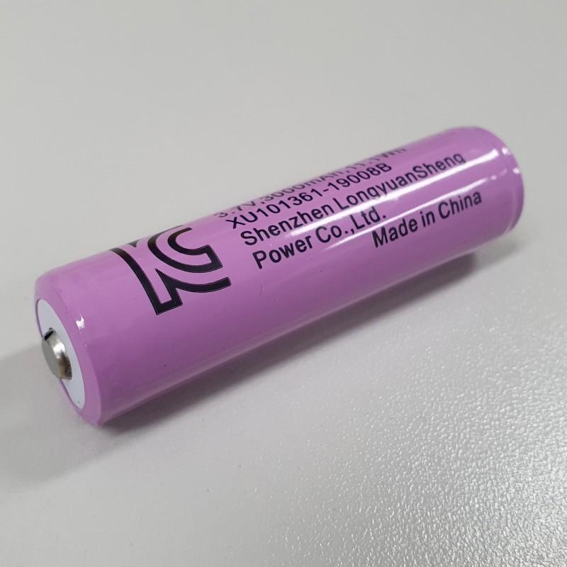 KC인증 18650 대용량 리튬이온 충전배터리 3,000mAh