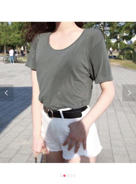 (완사입/파샬) 라운드 반팔티 티셔츠 봄 여름 무지 크레마t/40장/2500/a12