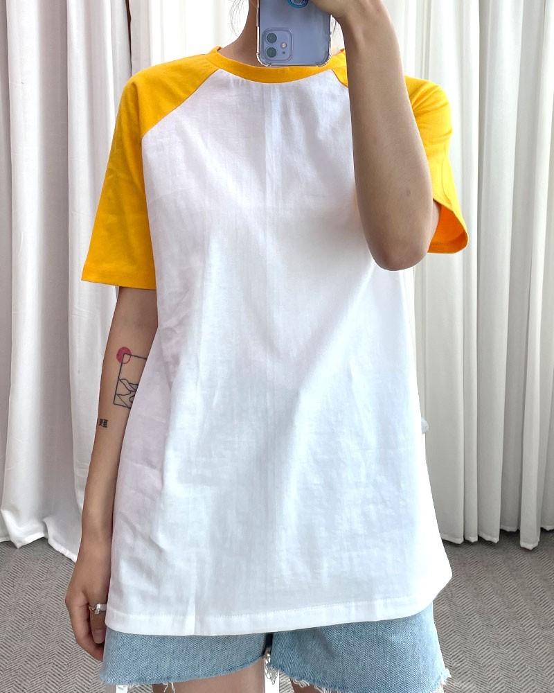 (완사입/파샬) 나그랑 반팔 4컬러 티셔츠 / 100장 / 1800 / b07