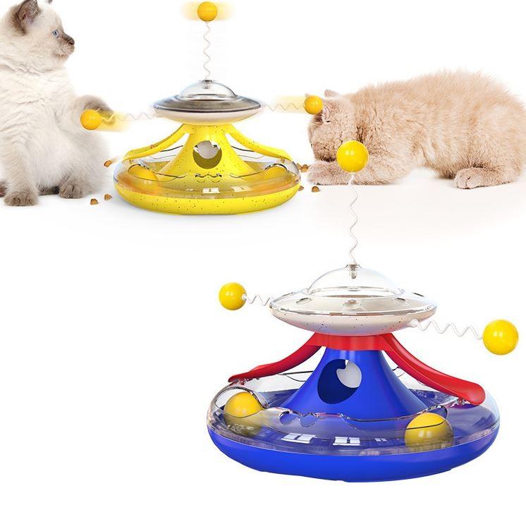고양이 풍차 돌리기 장난감