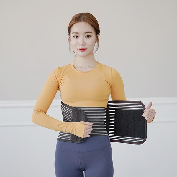 2중 허리밴드 복대 허리보호대(M/L/XL)